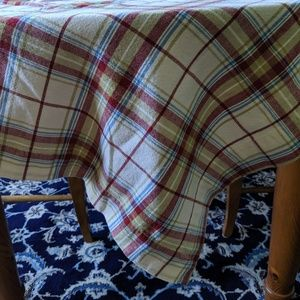 Pottery Barn Tablecloth New